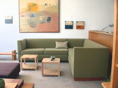 Mes amis sectional sofa by shapiro joyal studio.
