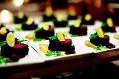 Elegant White Catering Plates