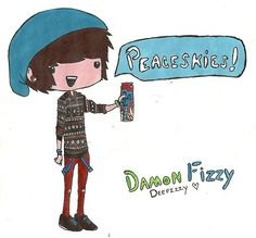 Damon Fizzy <3, so I guess you guys have gathered that ive watched some Damon Fizzy and loved it