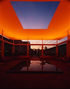 James Turrell - I first saw a gallery show of his in NYC in 1984 or 85. He changed my concept of how encompassing art could be.