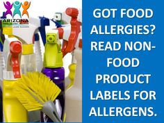 Arizona Food Allergy & Anaphylaxis Non-Profit Organization Tree Nut Allergy, Egg Allergy, Allergy Asthma, Peanut Allergy, Allergy Free, Kids Allergies, Egg Free Recipes, Eczema Psoriasis, Cleaning Products