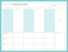 Arian Armstrong Free Weekly Planner  Diy Do    Weekly