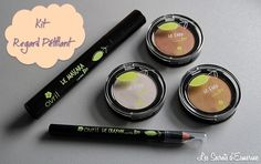 Kit regard pétillant - #AVRIL #makeup #maquillage http://lessecretsdesmerine.eklablog.fr/tendance-bio-un-regard-petillant-avec-avril-test-avis-a113831174