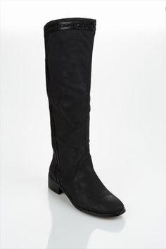 Milla by Trendyol  - Siyah Çizme MLWSS1344533 %52 indirimle 109,99TL ile Trendyol da