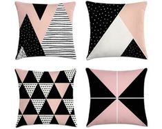 Sala Glam, Cute Pillows, Throw Pillows, Dream Home Design, House Design, Cute Bedroom Ideas, Accent Wall Bedroom, Glam Room, Girls Bedroom