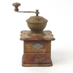 Leinbrocks Reform coffee grinder mill antique vtg primitive rough shape display #coffee #coffeegrinder #primitives #vintage #antiques