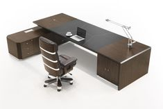 Home Office Furniture Design, Executive Office Furniture, Office Table Design, Reception Desk Design, Office Interior Design, Office Interiors, Cool Office Desk, Modern Office Desk, Contemporary Office