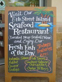 Whole Foods Market, Austin. Love the fish!!!