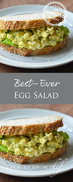 Classic Egg Salad _ga- and just so you know, eating eggs in moderation can lower you bad cholesterol levels.