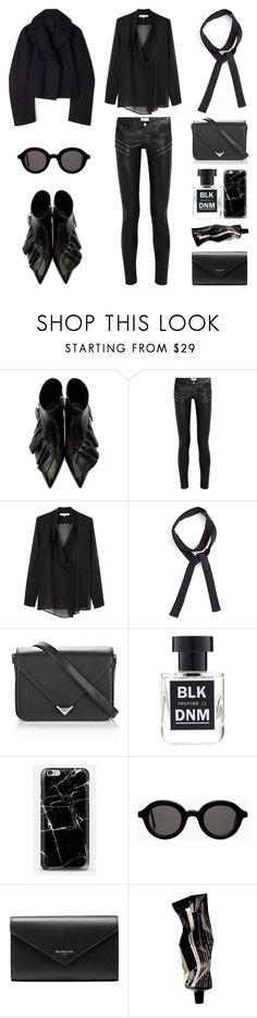 """Unbenannt #848"" by fashionlandscape ❤ liked on Polyvore featuring J.W. Anderson, Yves Saint Laurent, Vanessa Bruno, BLK DNM, Casetify, Mykita, Balenciaga and Aesop"