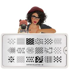 Festive Plate Collection - Your favourite nail art image plates. Triangles, errors and all your favourite hipster shapes & designs engraved on stainless steel Nail art stencils. MoYou-London an award winning nail art brand. Hipster Nail Art, Nail Art Designs Images, Nail Designs, Nail Stamper, Nail Stencils, Nail Art Stamping Plates, Moyou Stamping, Nail Plate, London Nails