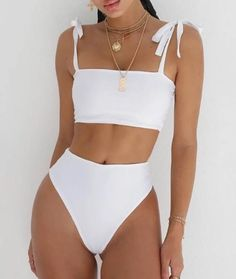 2020 New Supportive Swimwear For Big Busts Skimpy Bathing Suits Yellow One Piece Swimsuit Swimwear For Older Women – cantellm Cute Swimsuits, Cute Bikinis, Women Swimsuits, Trendy Bikinis, Girls In Bikinis, Halter Swimsuits, Bikini Fitness, Bikini Workout, Bikini Diet