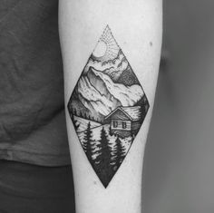 Landscape Tattoo Design by Tomtom