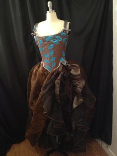 theatrical costume portfolio of Cynthia Settje, owner of Redthreaded Costumes & Corsets Broadway Costumes, Victorian, Corsets, Antique, Vintage, Dresses, Style, Fashion, Vestidos