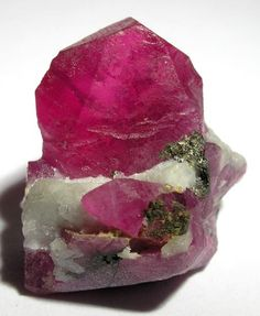 Corundum var. Ruby - Jagdalak Ruby Mine, Sorobi District, Konar Province, Afghanistan