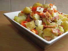 Mau!kas ruokablogi: Lämmin pekoni-perunasalaatti