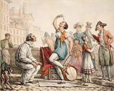 The Glass Balancer, (colour litho) by Antoine Charles Horace Vernet Street Vendor, Jane Austen, Napoleon, Magnolia, 19th Century, Tapestry, Colour, Glass, Painting