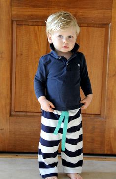 Easiest Baby Pants by Me Sew Crazy - links to lots of tutorials for tee shirt upcycle baby pants