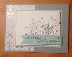 Endless Wishes All Is Calm Stampin Up MidnightCrafting