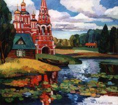Autumn Midday - Andrey Kioresku - Russian Fine Art