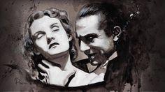 Dracula - Helen Chandler and Bela Lugosi - art by Rob Prior robprior.com