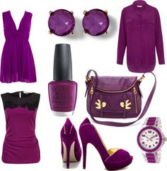 Pantone Colour of the Year 2014- Radiant Orchid http://strollingthecityinheels.com