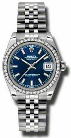 Rolex Datejust 31MM Steel 178384- BLUSDO