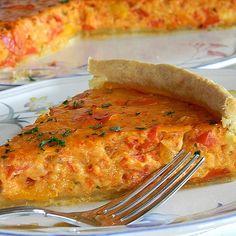 Vegetarische Paprika-Zwiebel-Quiche von MultikochDE | Chefkoch