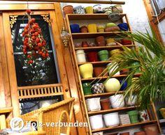 Blumentopf-Regal - Flowerpot shelf