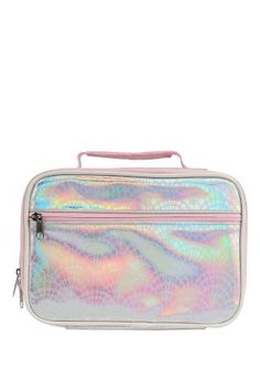 86c9e6a0f725 Buy Paperchase Mermaid Squad Iridescent Lunch Bag from the Next UK online  shop
