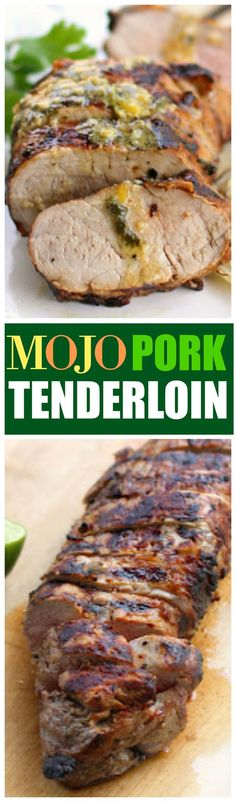 This Mojo Pork Tenderloin is healthy and infused with citrus juices. Grilled onions on the side put this recipe over the top. If pork loin is your thing, you'll love this Mojo Pork Tenderloin recipe marinated in orange and lemon juice.