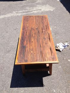 Pecky Cypress Coffee Table By Landrum Tables In Charleston Sc