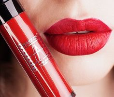 RED - ALWAYS PERFEXT RED LIPS WITH MAKEUPATELIER FRENCH COSMETICS Oо👌🏻Mate Shadow in Lipgloss RW02(VERMILLON)