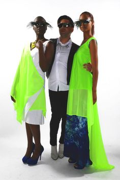 #AndyJonesFashion  #Spring2014Collection Designer Andy Jones  Models Samantha Moore, and Krystal Kennedy from True Colours Model & Talent Agency Styling by Pedro Miguel Photography by Dave Pereira