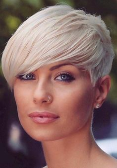 Pixie haircut is one of those hairstyles which are always most liked haircuts among women since last many decades. That's the reason we've shown here some amazing ideas of short blonde pixie haircuts for These haircuts are best for blonde hair women Blonde Pixie Haircut, Short Blonde Pixie, Pixie Haircut Styles, Short Pixie Haircuts, Pixie Hairstyles, Blonde Hairstyles, Blonde Bangs, Haircut Short, Very Short Hair