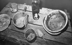 Prisoners' eating utensils. Courtesy of the Gulag Museum at Perm-36.