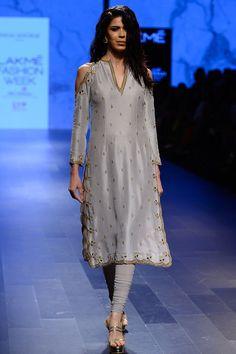 Payal Singhal indian designer embroidered kurta sets runway ...