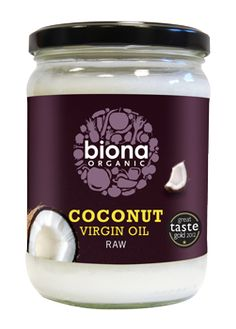 Biona - Biona Organic Coconut Oil - Raw Virgin - 400g - Very nice texture and taste - I use it for all my cooking and baking