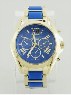 Timelessly Beautiful Watch in Cobalt