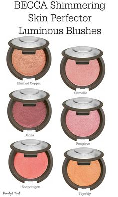 BECCA Shimmering Skin Perfector Luminous Blush...love!