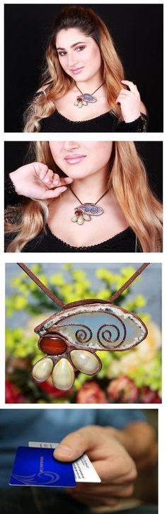 Boho pendant, Gemstone pendant, boho gypsy, sea glass jewelry, seashell necklace, Ocean jewelry, Sea glass pendant, Ocean necklace, sea glass https://www.etsy.com/listing/524117692/boho-pendant-gemstone-pendant-boho-gypsy?share_time=1516466335000&utm_term=so.slt&utm_content=buffera505a&utm_medium=social&utm_source=pinterest.com&utm_campaign=buffer #valentinesgift #valentinesday #mothersday #giftforher #armenian #armenia #handmade #handmadejewelry #seashell #seajewelry