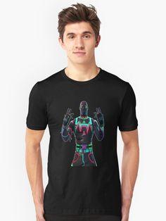 'Fortnite Liteshow' T-Shirt by Abstraktionist Chiffon Tops, V Neck T Shirt, Classic T Shirts, Hoodies, Mens Tops, Stuff To Buy, Neo Tokyo, Clothes, Manga Anime