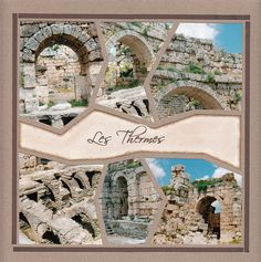Creation Album Photo, Crafty Hobbies, My Scrapbook, Layout Inspiration, Scrapbooking Layouts, Barcelona Cathedral, Stained Glass, San Diego, Mosaic