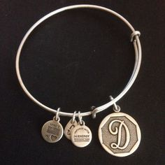 Alex and Ani Initial D Charm Bangle #AlexandAni #Bangle
