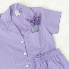 Conjunto Camisa + Short Lavanda Be Still, Shorts, Lavender, Shirts, Short Shorts, Hot Pants