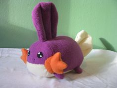 OOAK Pokemon Shiny Mudkip Loaf Plushie by NovaDogCreations on Etsy