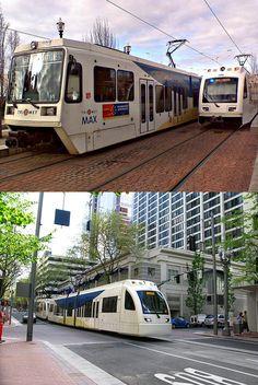 Max lightrail, Portland, OR