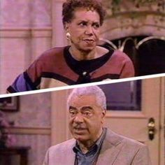 Russell and Anna Huxtable Played by: Earle Hyman and Clarice TaylorFrom: The Cosby Show (1984-1992)