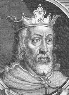 Clotaire (Clothaire Chlothar) II Merovingian, of France; 584 - 629; my 34th great grandfather