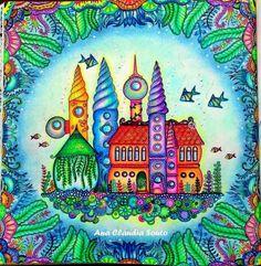 Inspirational Coloring Pages by Ana Cláudia Souto #inspiração #coloringbooks…